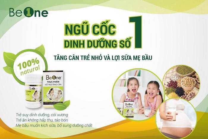 Beone - loại ngũ cốc số 1 dành cho trẻ nhỏ và mẹ bầu