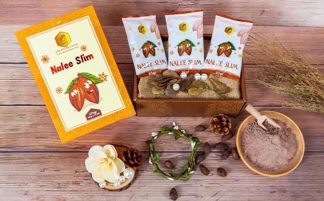 Sản phẩm Giảm Cân Cacao Nalee Slim bản mới