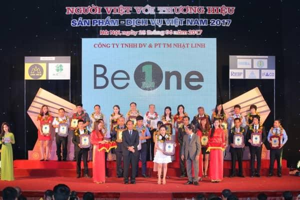 Thương hiệu Beone được vinh danh