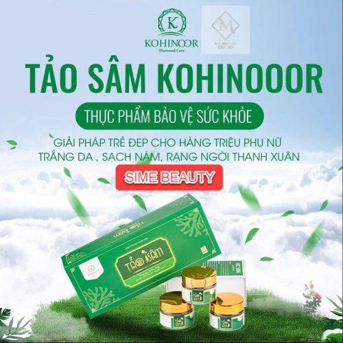 Tảo sâm Kohinoor - thực phẩm bảo vệ sức khỏe.