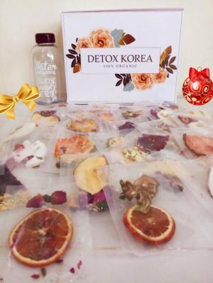 Các gói trà detox korea