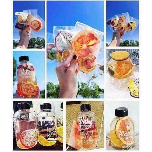 các gói detox korea - trái cây sấy giảm cân