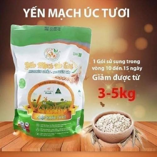 1 gói sử dụng được trong vòng 10 - 15 ngày giảm được 3 - 5 kg.