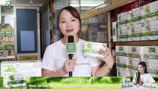 Công dụng của green beauty - nước ép cần tây