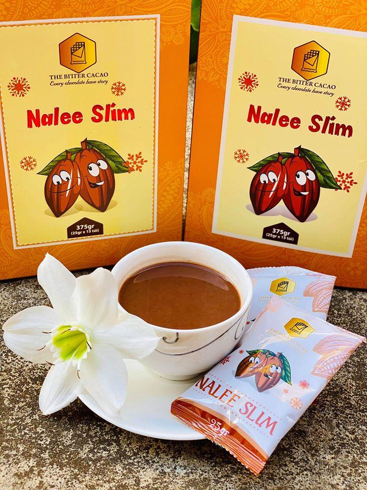 mùi vị thơm ngon khi sử dụng Giảm Cân Cacao Nalee Slim