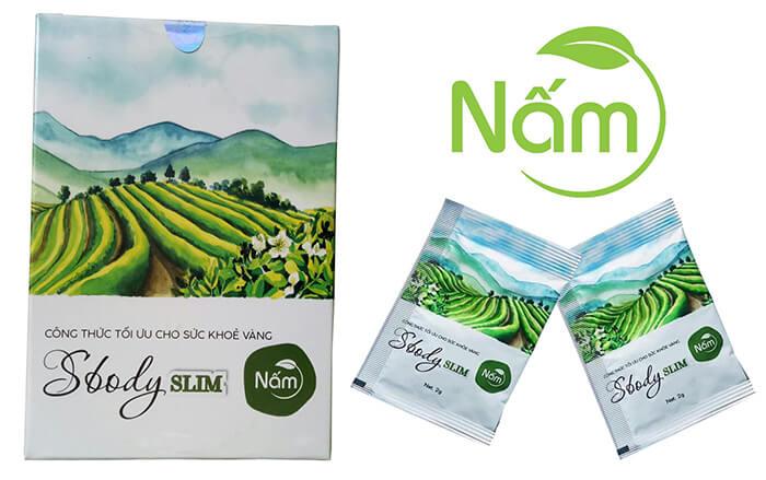 Sản phẩm giảm cân Sbody Slim Nấm và Sbody green Coffee