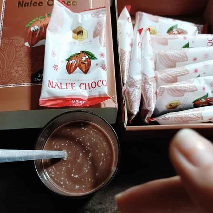 Nalee Choco có mùi thơm và rất dễ uống.