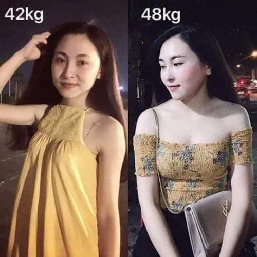 Tăng 6kg sau 1 tháng sử dụng sản phẩm