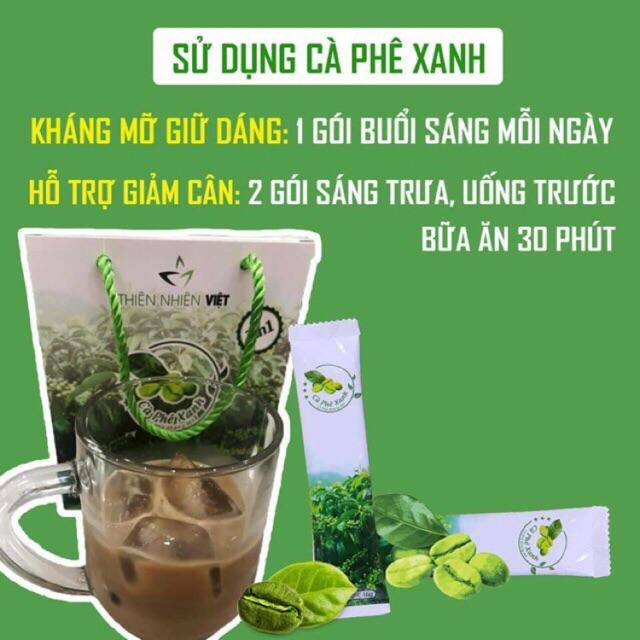 Nên sử dụng cafe xanh kháng mỡ đúng cách để tránh gây hại