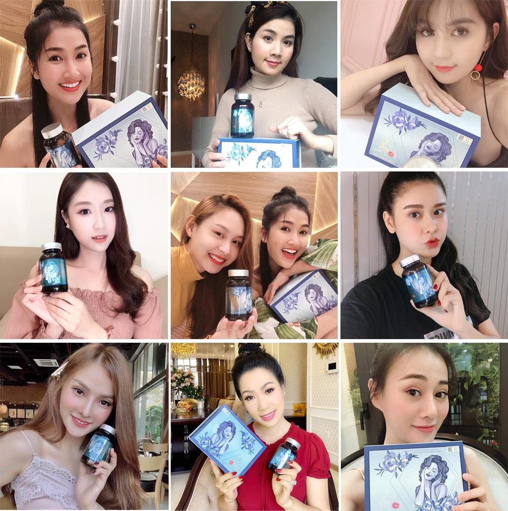 Những người đẹp sử dụng Viên Uống Trắng da Beauty Plus
