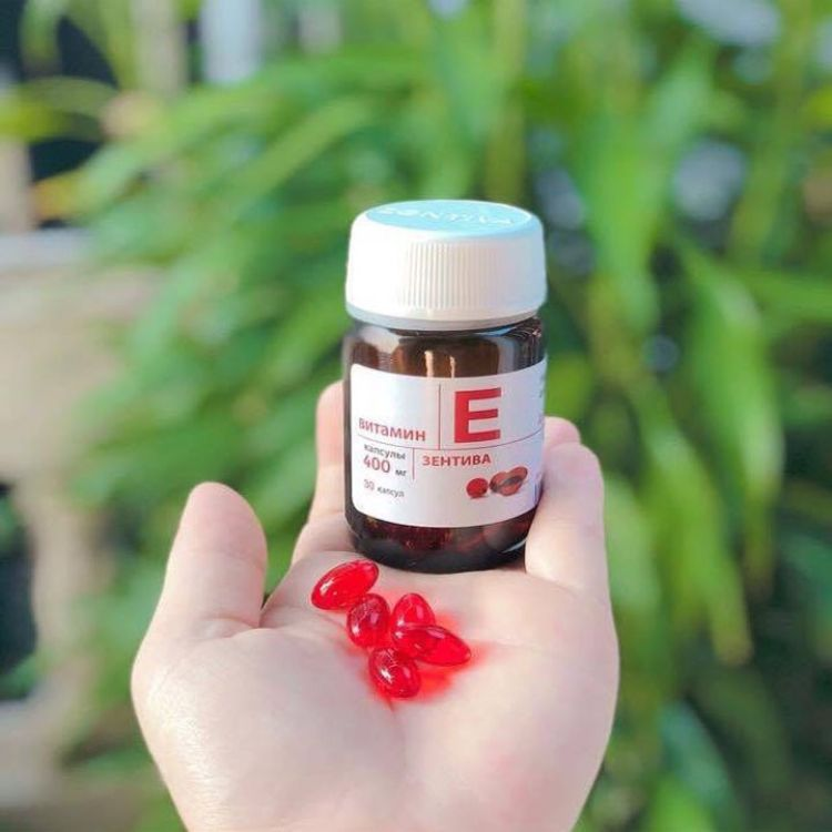 Sản phẩm Vitamin E đỏ của Nga