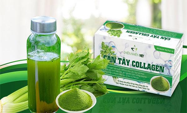 Sản phẩm Cần Tây Collagen Thiên Nhiên Việt