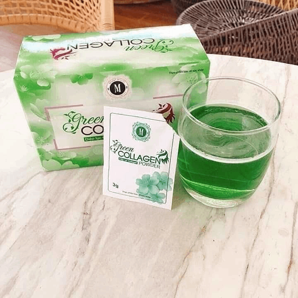 Sản phẩm Diệp Lục Collagen (Green Collagen Powder)